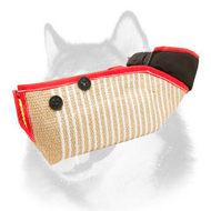 Jute Dog Bite Sleeve for Effective Training of Siberian Husky