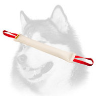 Huge Siberian Husky Bite Tug with 2 Comfy Handles