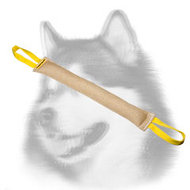 Reliable Jute Siberian Husky Bite Tug (Tag)