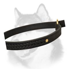 Riveted extra durable choke collar for Husky