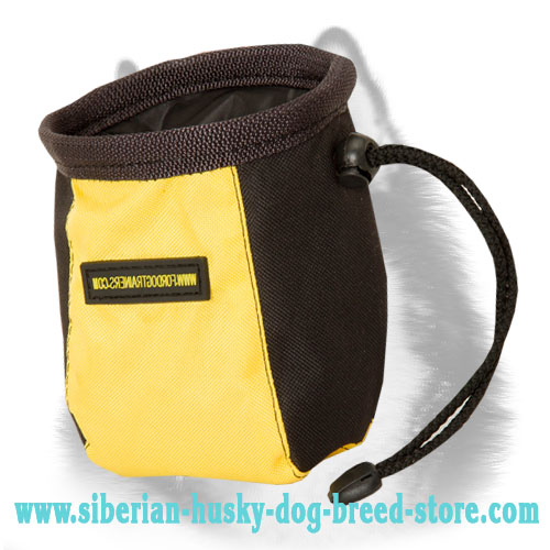 Handy Siberian Husky Treat Pouch