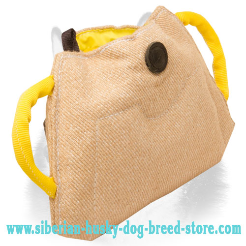 Advanced Jute Siberian Husky Bite Builder for Puppy Training