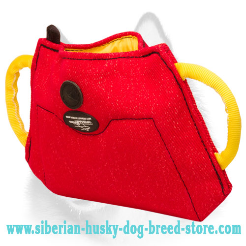 French Linen Siberian Husky Bite Builder for Efficient Training
