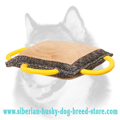 Improved Siberian Husky Bite Pad for Dog Bite Training