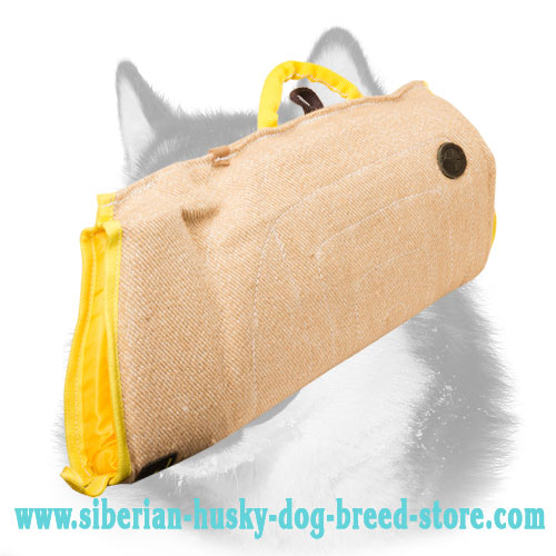 Puppy Training Bite Sleeve for Siberian Husky