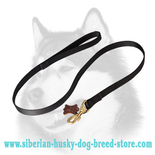 All weather 2 ply nylon Siberian Husky lead