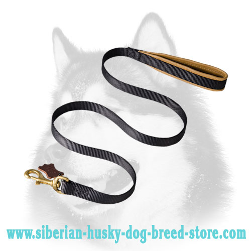 Reliable training nylon Siberian Husky leash