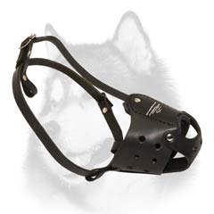 Comfortable soft padded muzzle