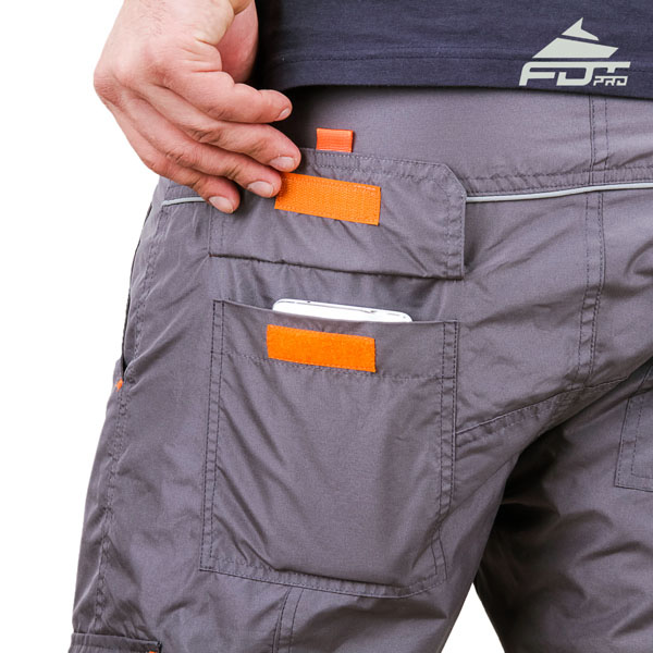 Comfy Design Pro Pants with Reliable Side Pockets for Dog Trainers
