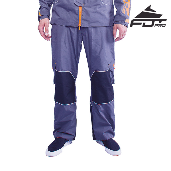 Pro Pants of Grey Color for Any Weather Use