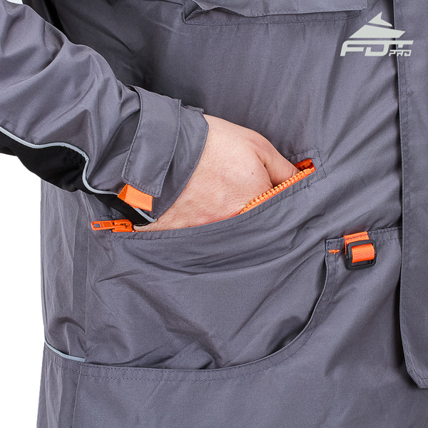FDT Pro Dog Tracking Jacket with Side Pockets for Everyday Use