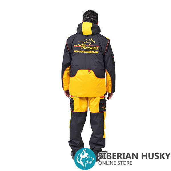 Membrane Fabric Training Bite Suit with Side Pockets