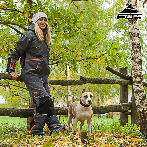 Unisex Design Active Dog Training Professional Pants with Side Pockets