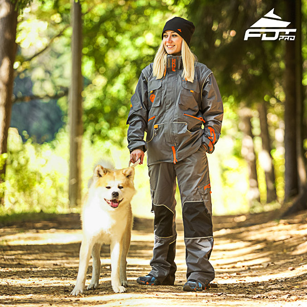 Unisex Design Dog Tracking Jacket of High Quality Materials