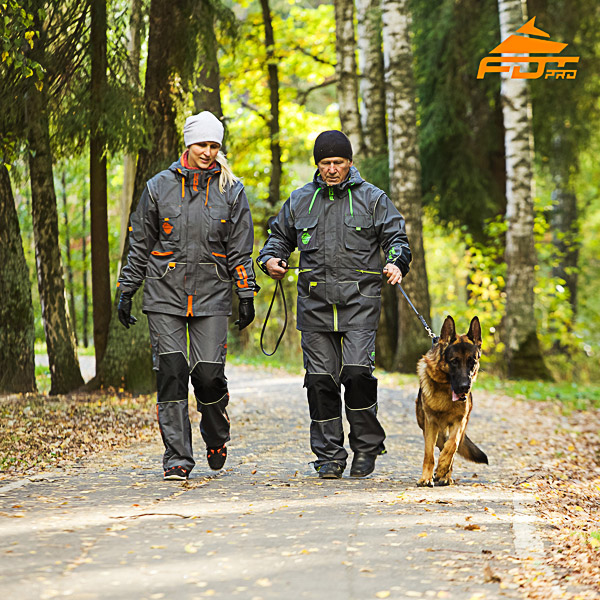 Any Weather Top Rate Dog Tracking Suit for Men and Women