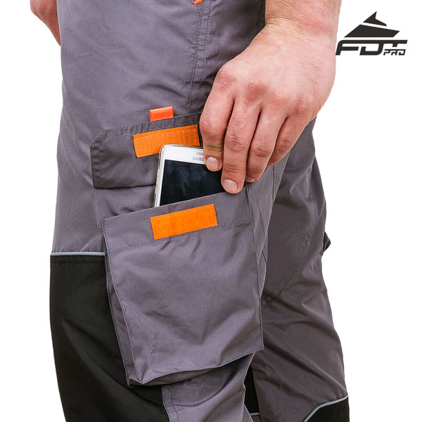 Comfy Design Pro Pants with Reliable Back Pockets for Dog Training