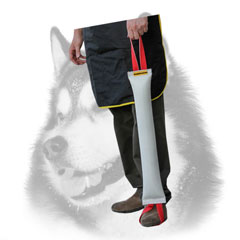Dog bite tug for Siberian Husky of fire hose