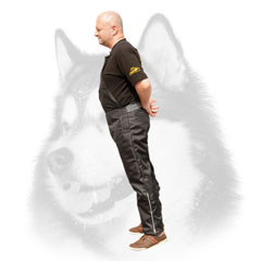 Nylon scratch protection pants for safe training