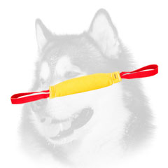 Durable Training Bite     Tug for Siberian Husky of French Linen