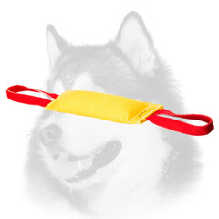 Training Bite     Tug for Siberian Husky of French Linen