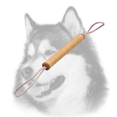 Jute Siberian Husky bite tug for puppy training