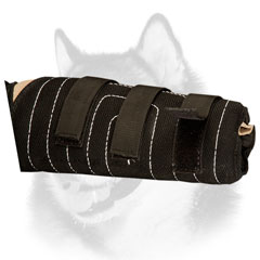 Soft and quality Siberian Husky training sleeve easy to fix on arm